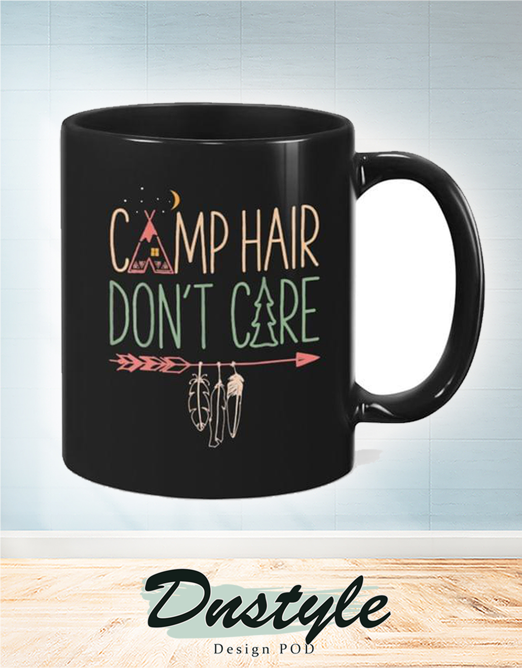 Camp hair don't care mug 2