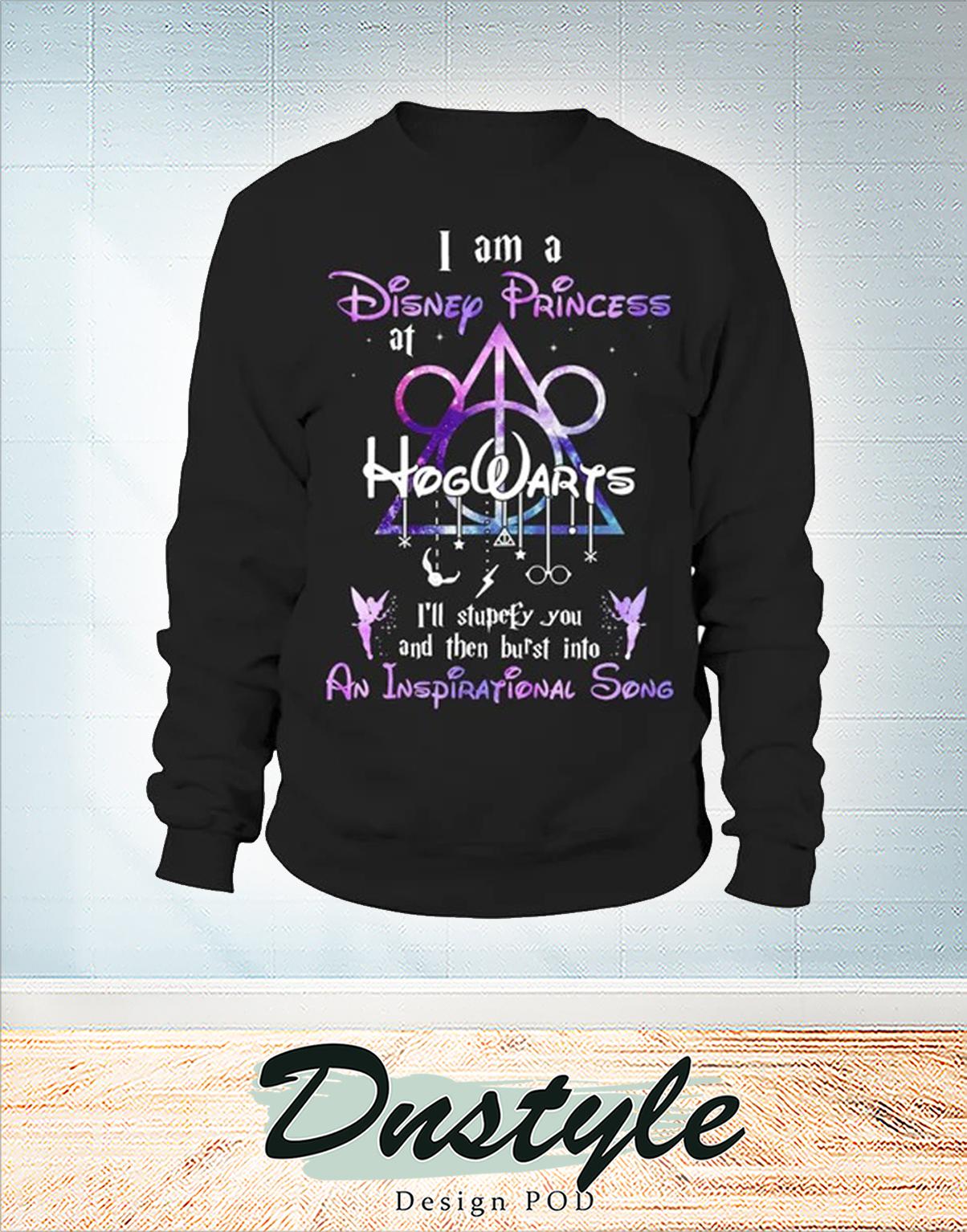 I am a disney princess at hogwarts long sleeve