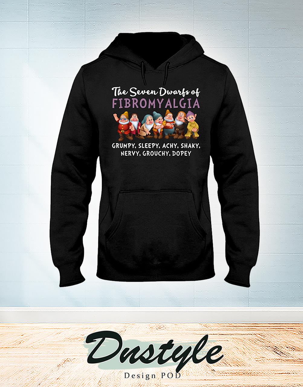 The seven dwarfs of fibromyalgia hoodie