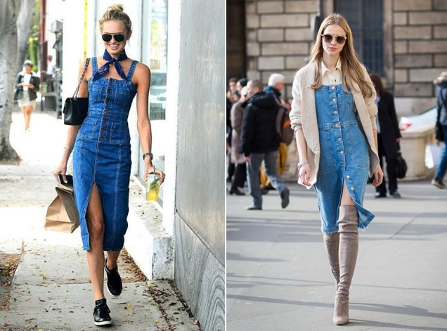4 ways to mix and match with lovely overall dress