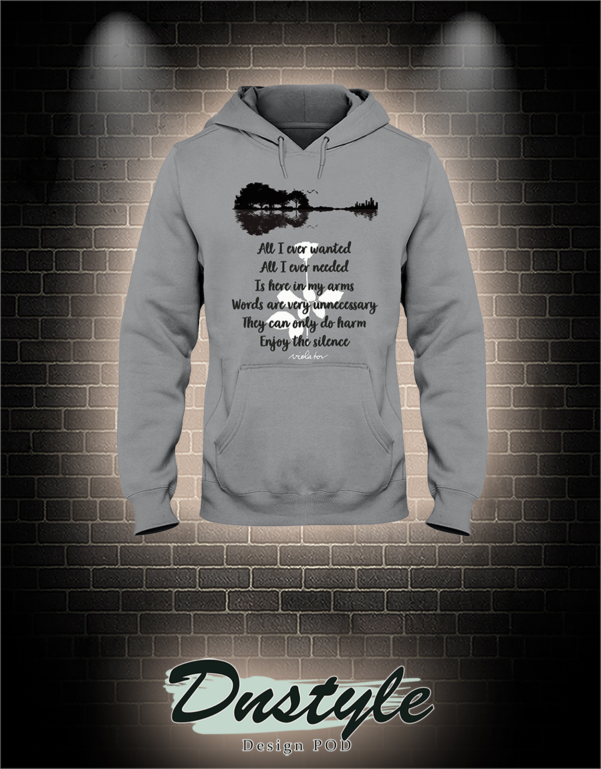 All i ever wanted all i ever needed is here in my arms hoodie