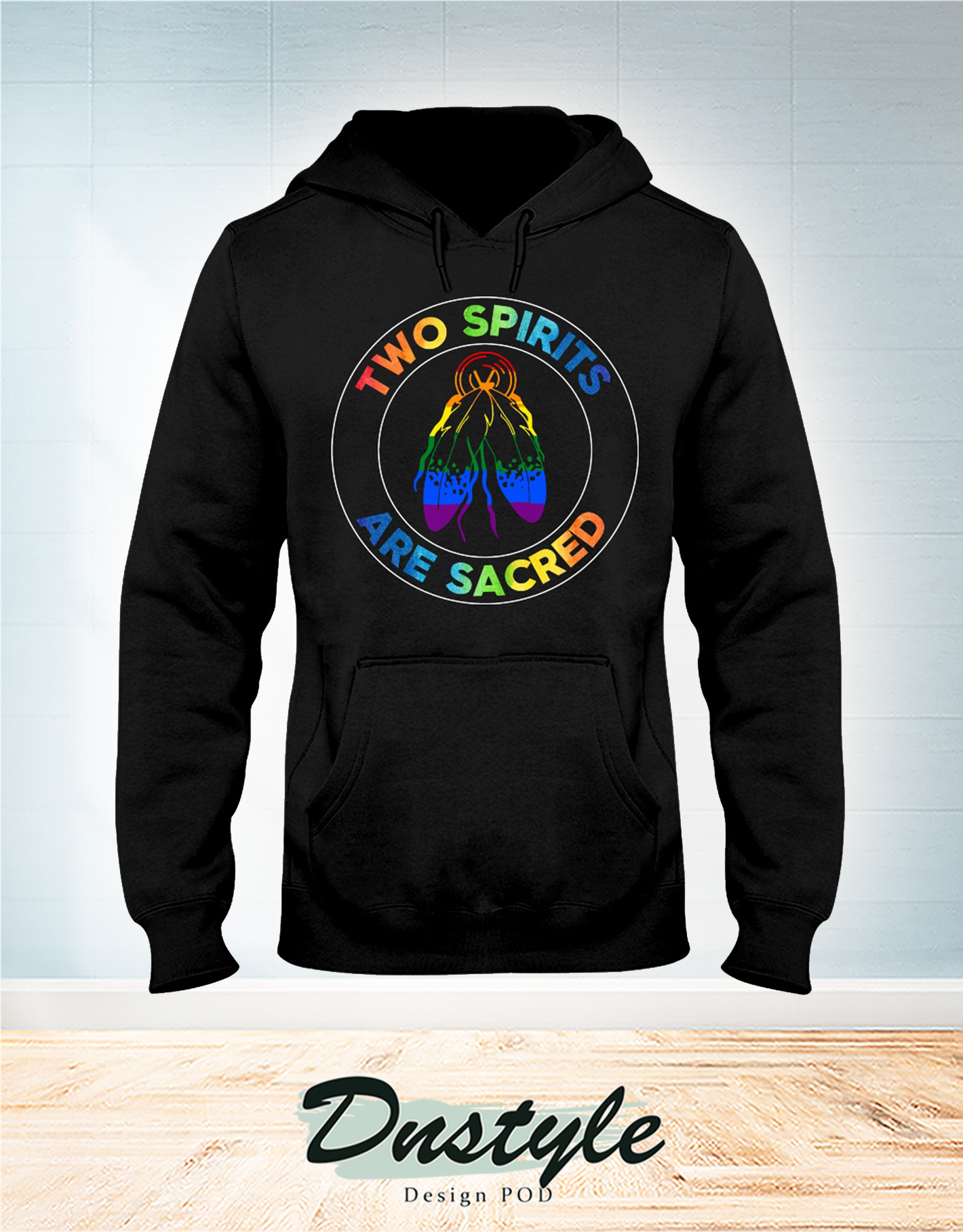 American native two spirits are sacred hoodie