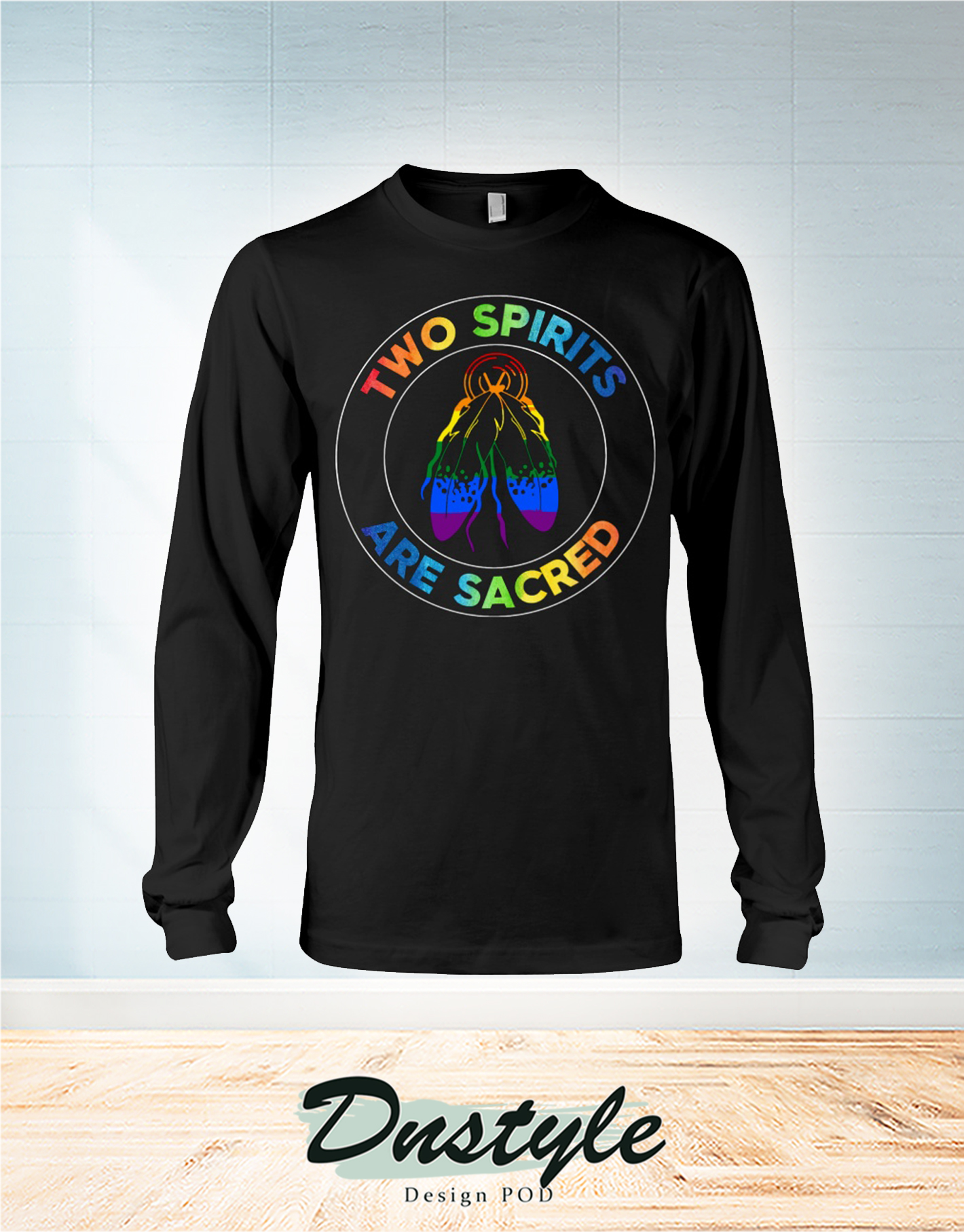 American native two spirits are sacred long sleeve