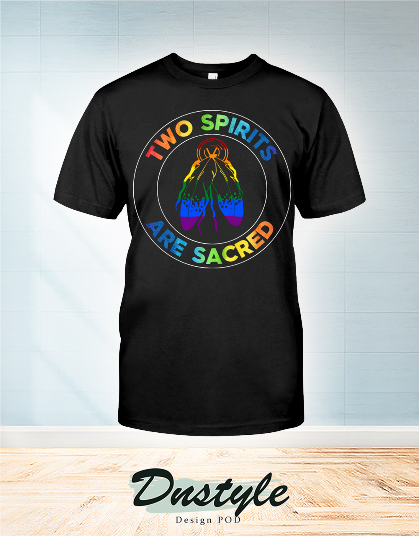 American native two spirits are sacred t-shirt