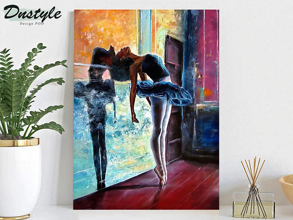 Ballet dancer painting poster A2