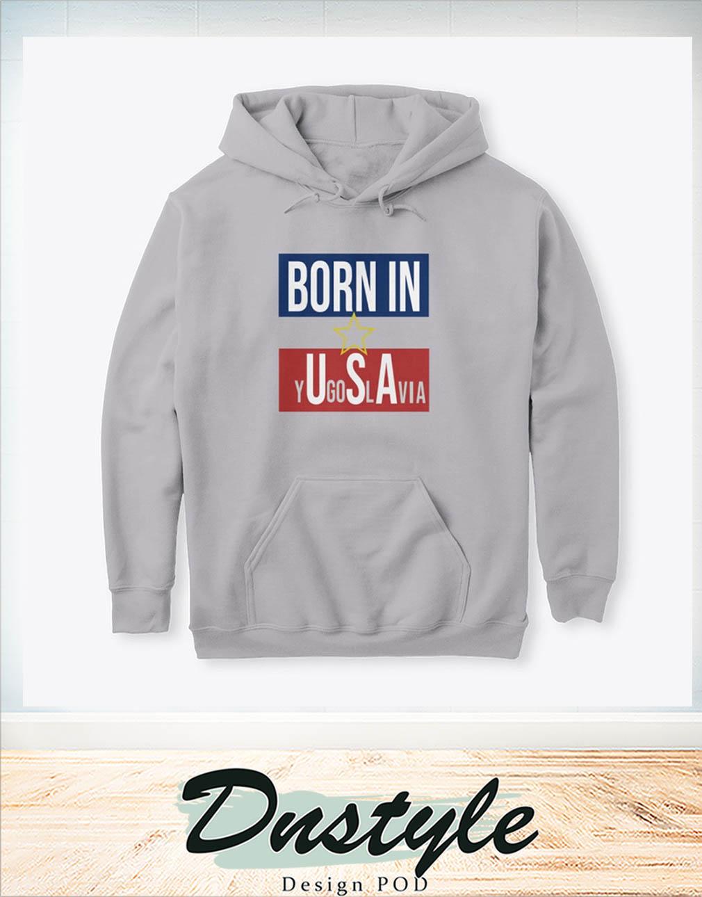 Born in YU-GI-OH-SLAVIA hoodie
