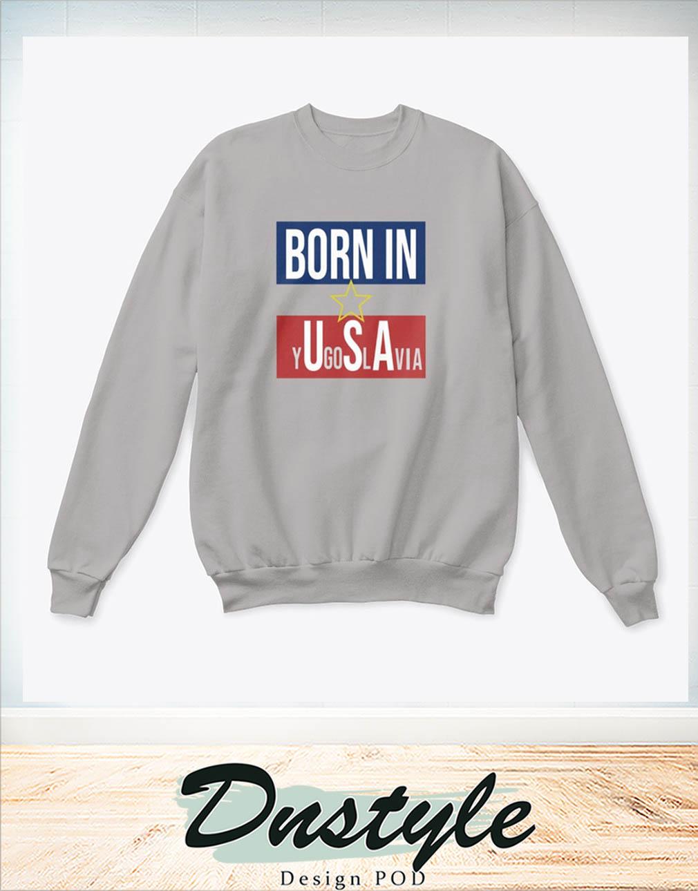 Born in YU-GI-OH-SLAVIA sweatshirt