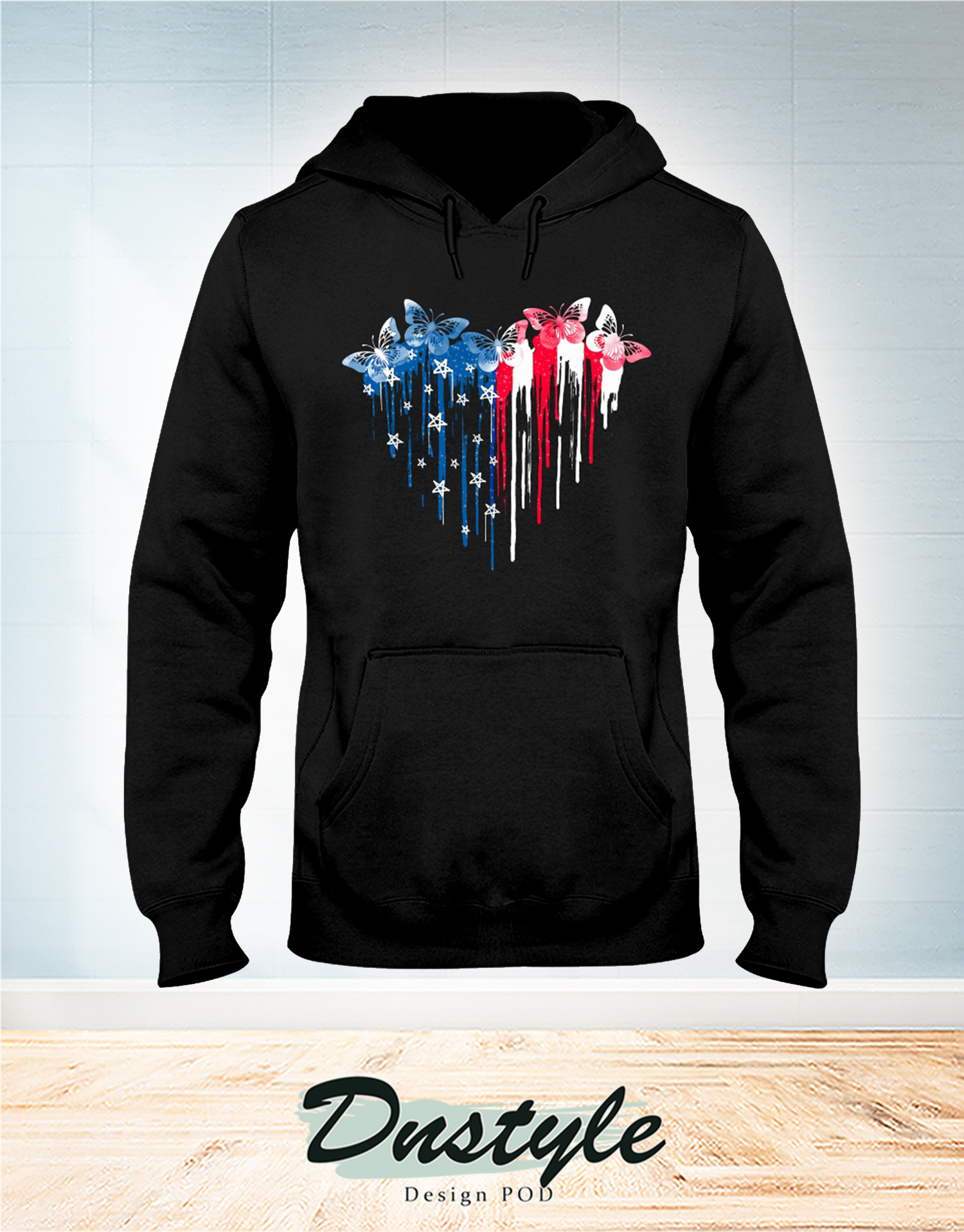 Butterfly freedom hear colors hoodie