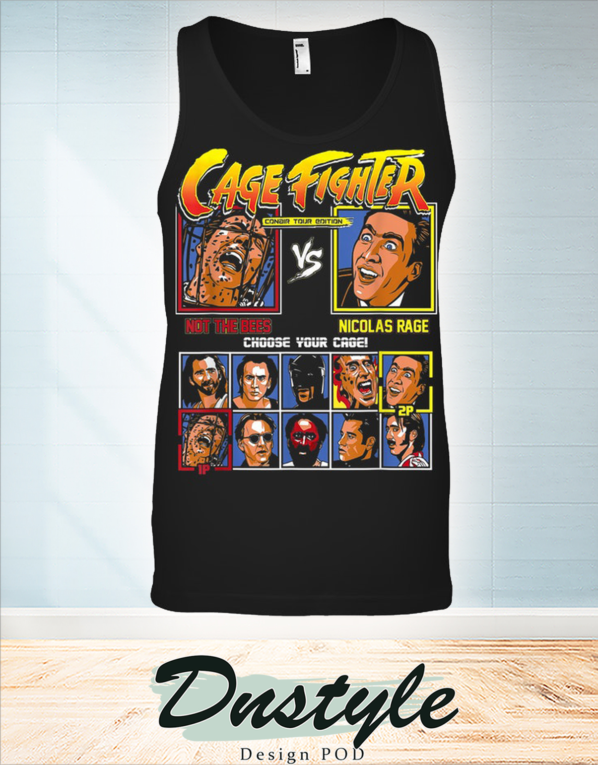 Cage fighter not the bees vs nicolas rage tank