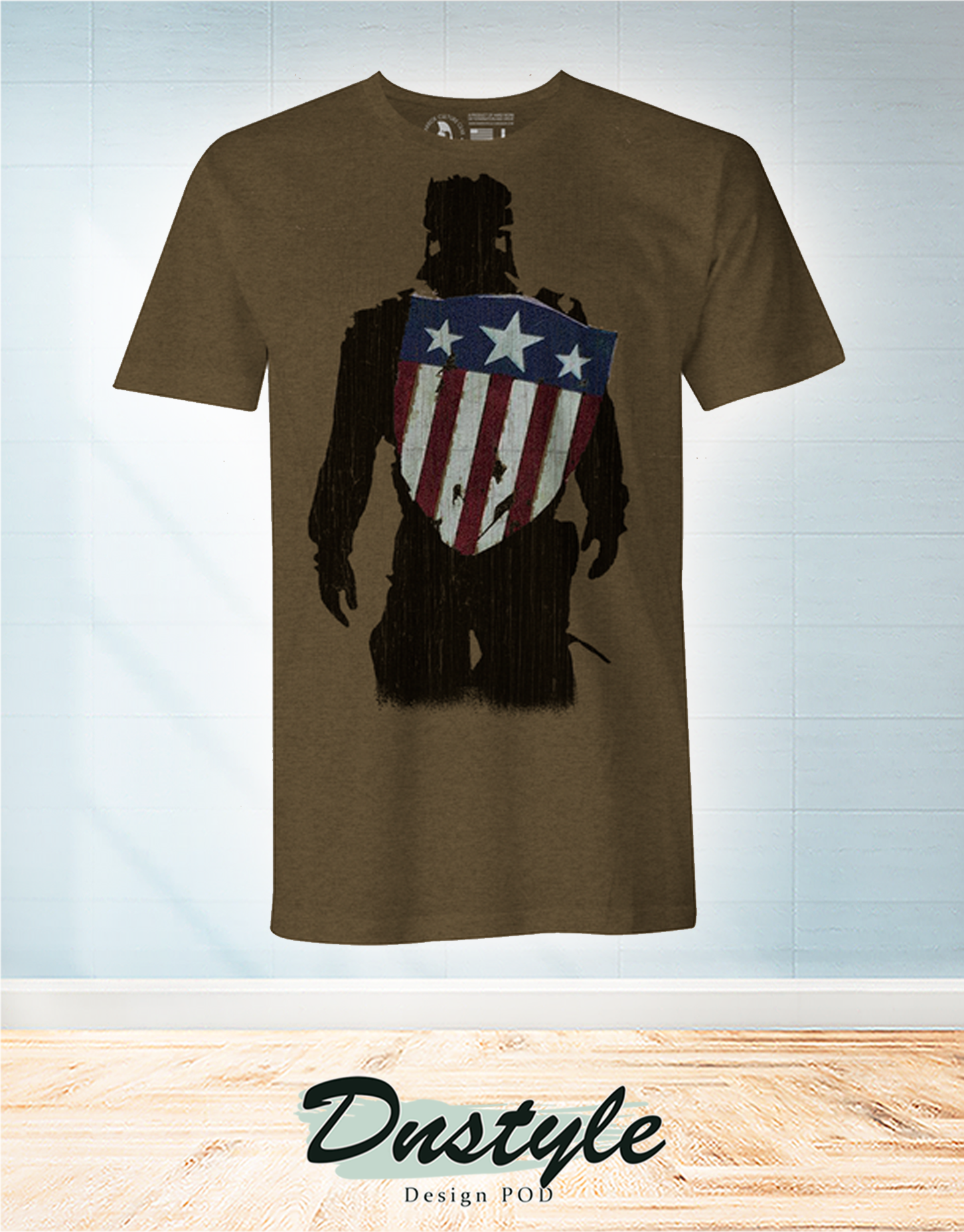 Captain America for as long as I can remember I just wanted to do what was right t-shirt