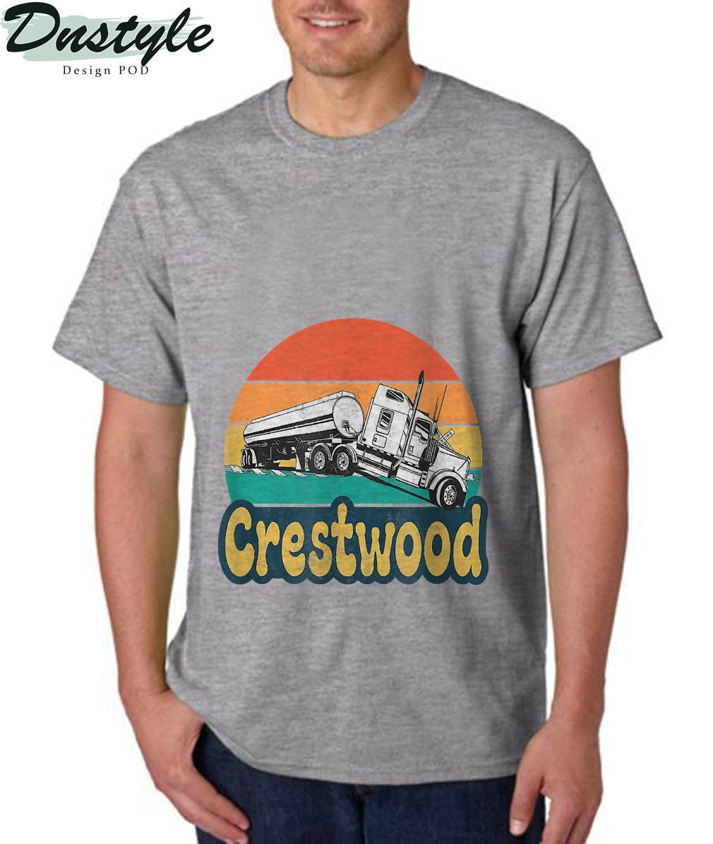 Crestwood Kentucky KY Tourism Semi Stuck on Railroad Tracks T-Shirt 1