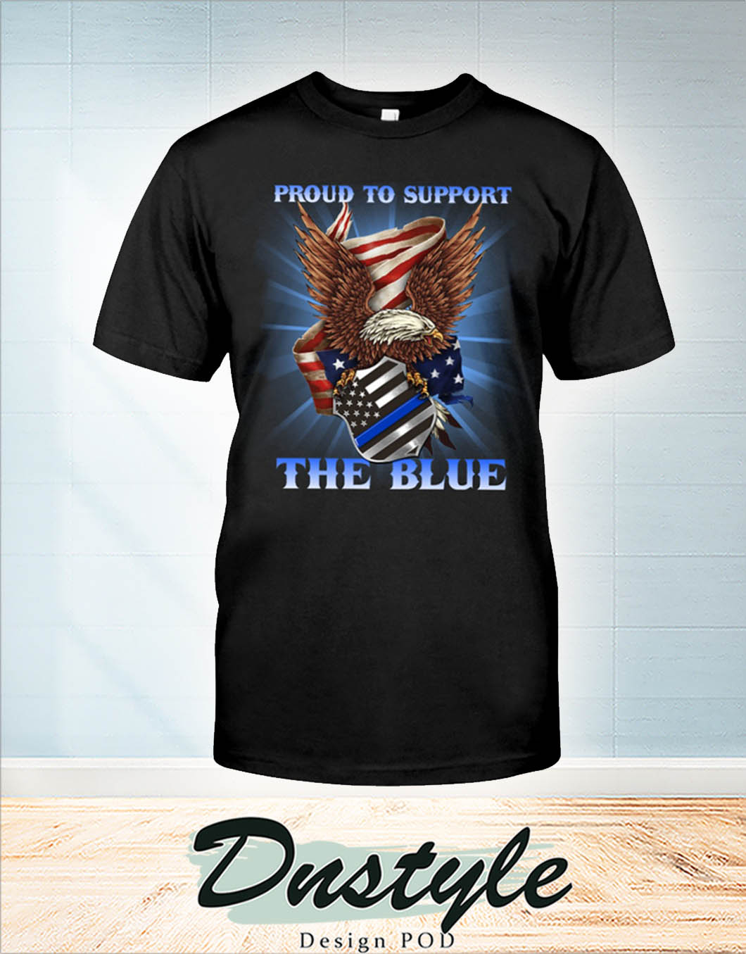 Eagle proud to support the blue shirt