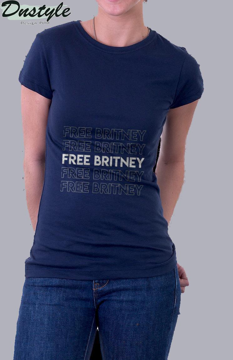 Free britney movement #freebritney t-shirt 2