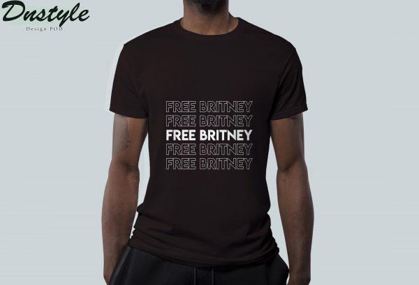 Free britney movement #freebritney t-shirt 3