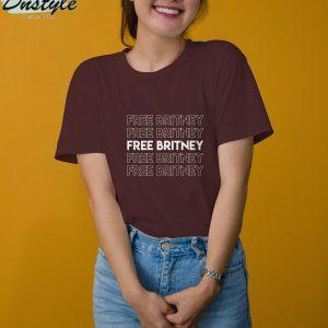 Free britney movement #freebritney t-shirt