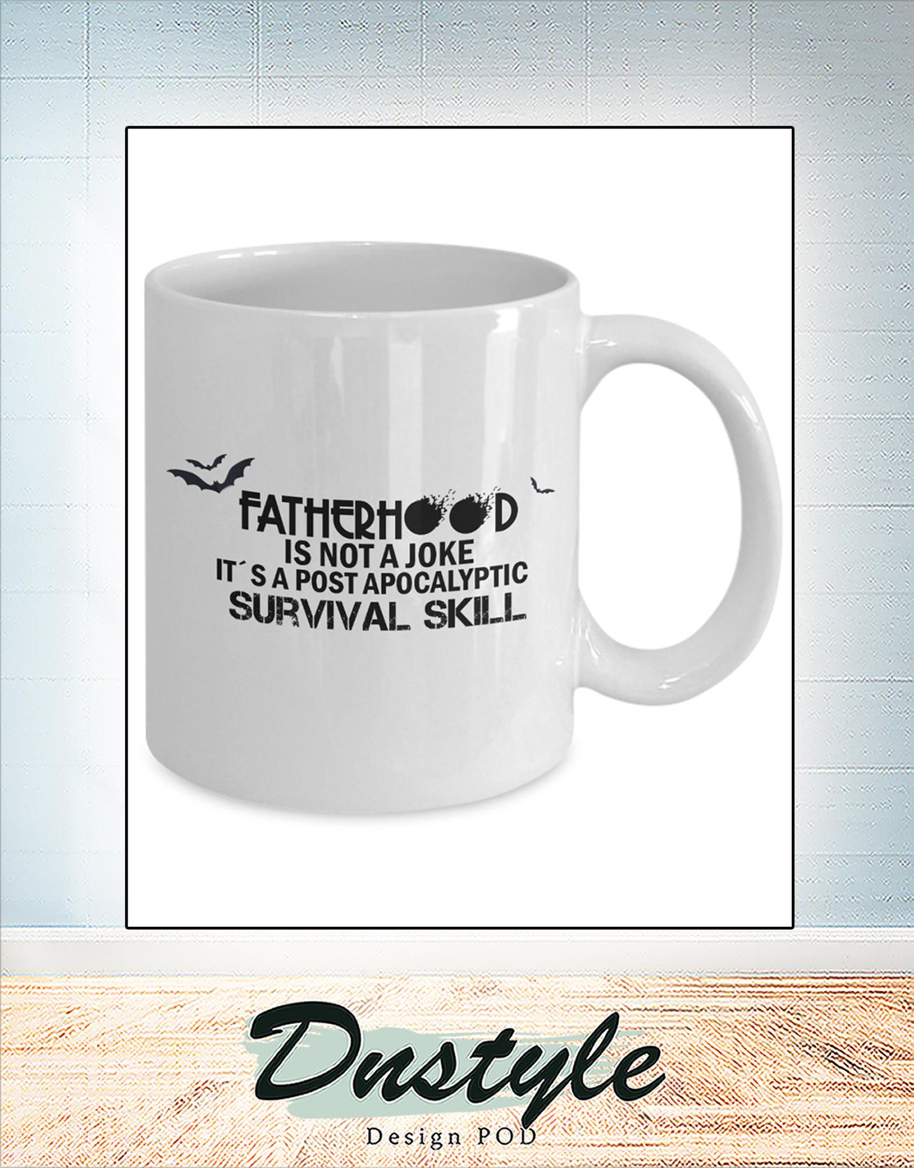 Fatherhood is not a joke mug 1