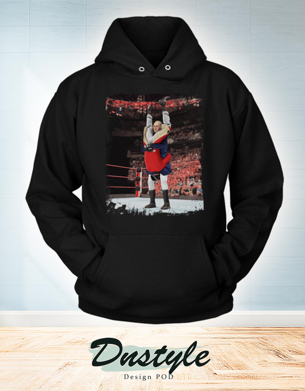 George washington wrestling hoodie