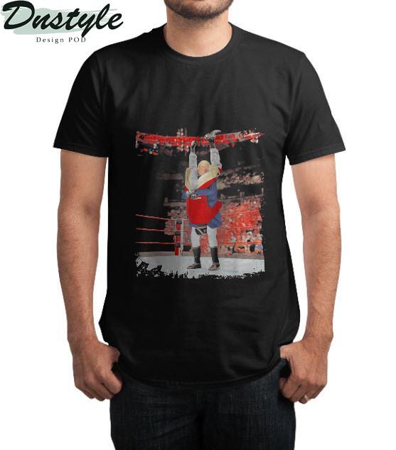 George washington wrestling t-shirt