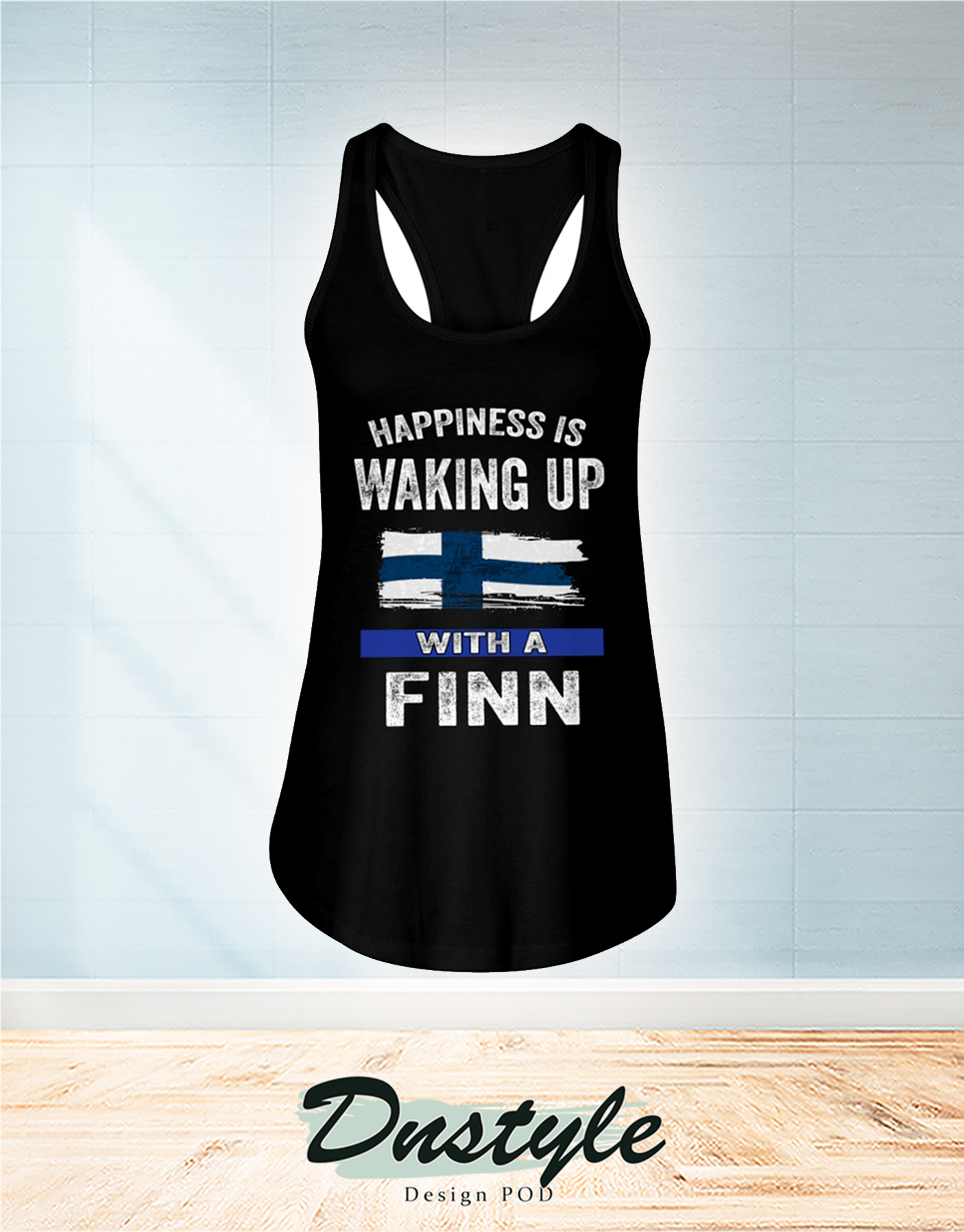 Happiness is waking up with a Finn flowy tank