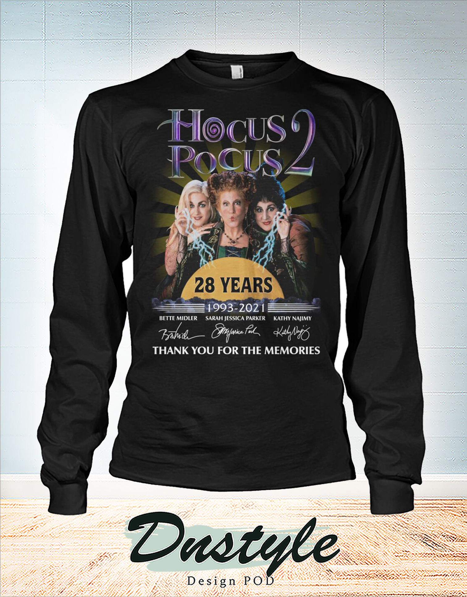 Hocus pocus 28 years thank you for the memories long sleeve