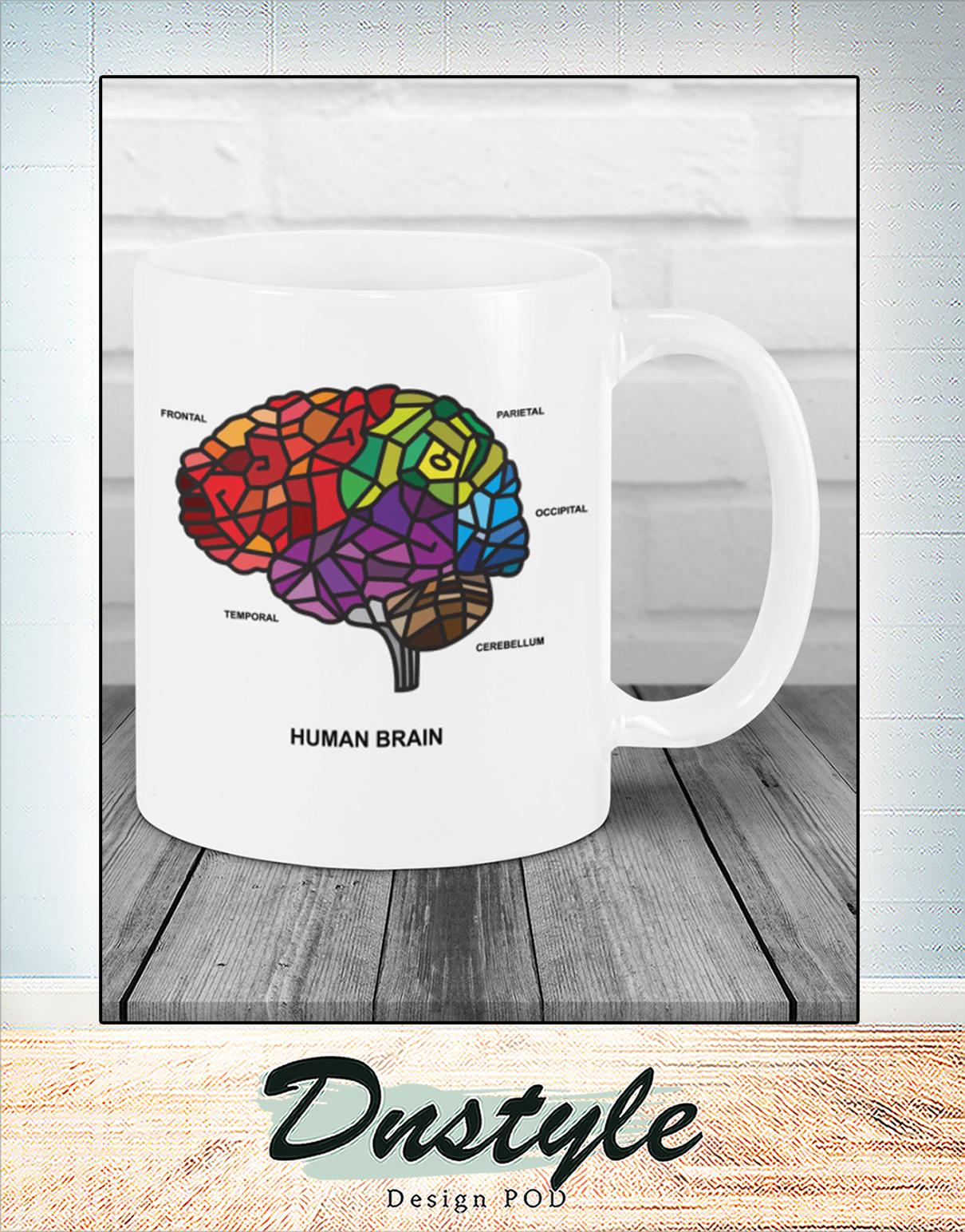Human brain mosaic ana mug 1