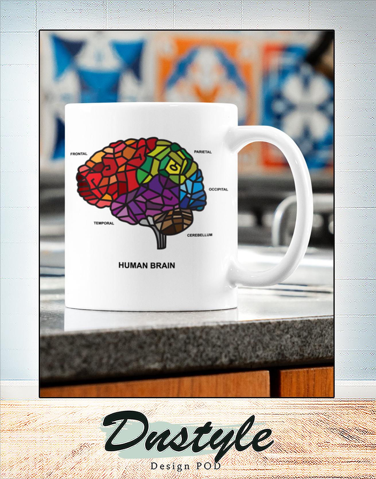 Human brain mosaic ana mug 2