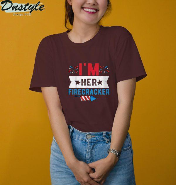I'm her firecracker 4th of july t-shirt 3