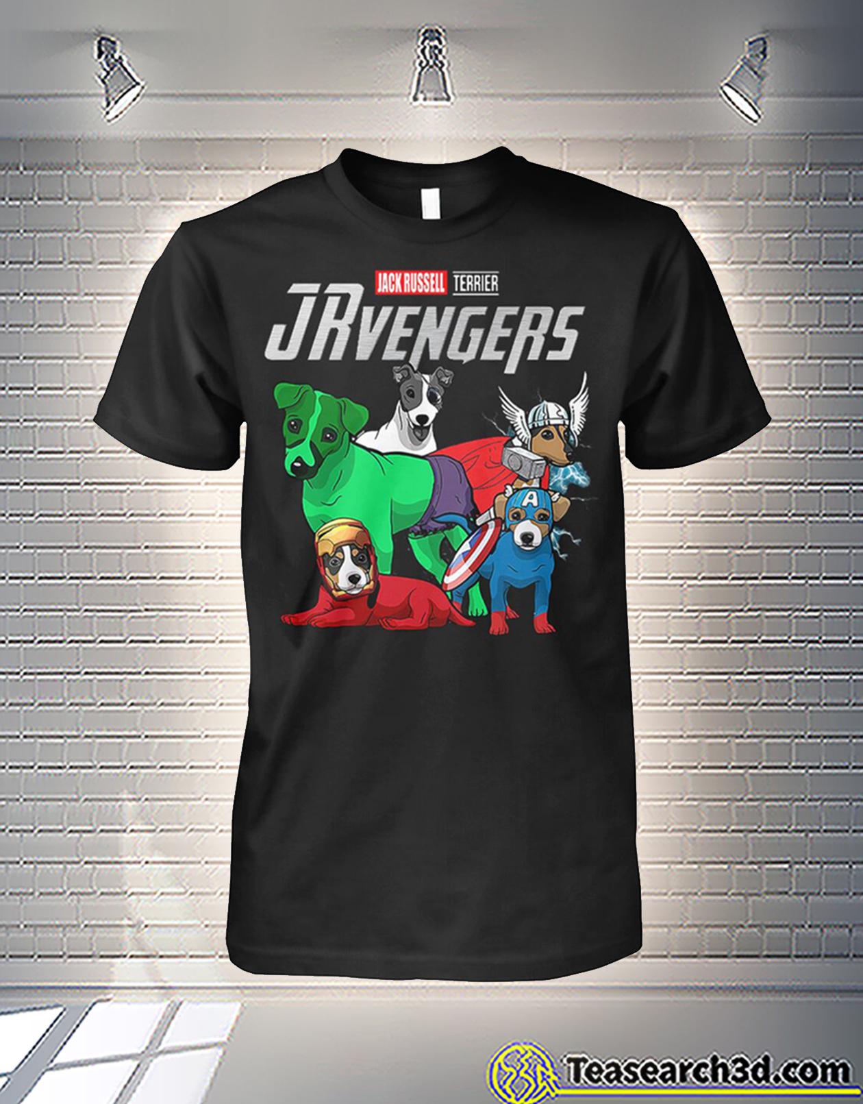 Jack Russell terrier jrvengers avengers shirt