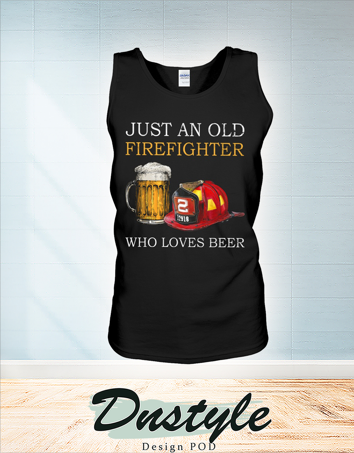 Just an old firefighter who loves beer tank