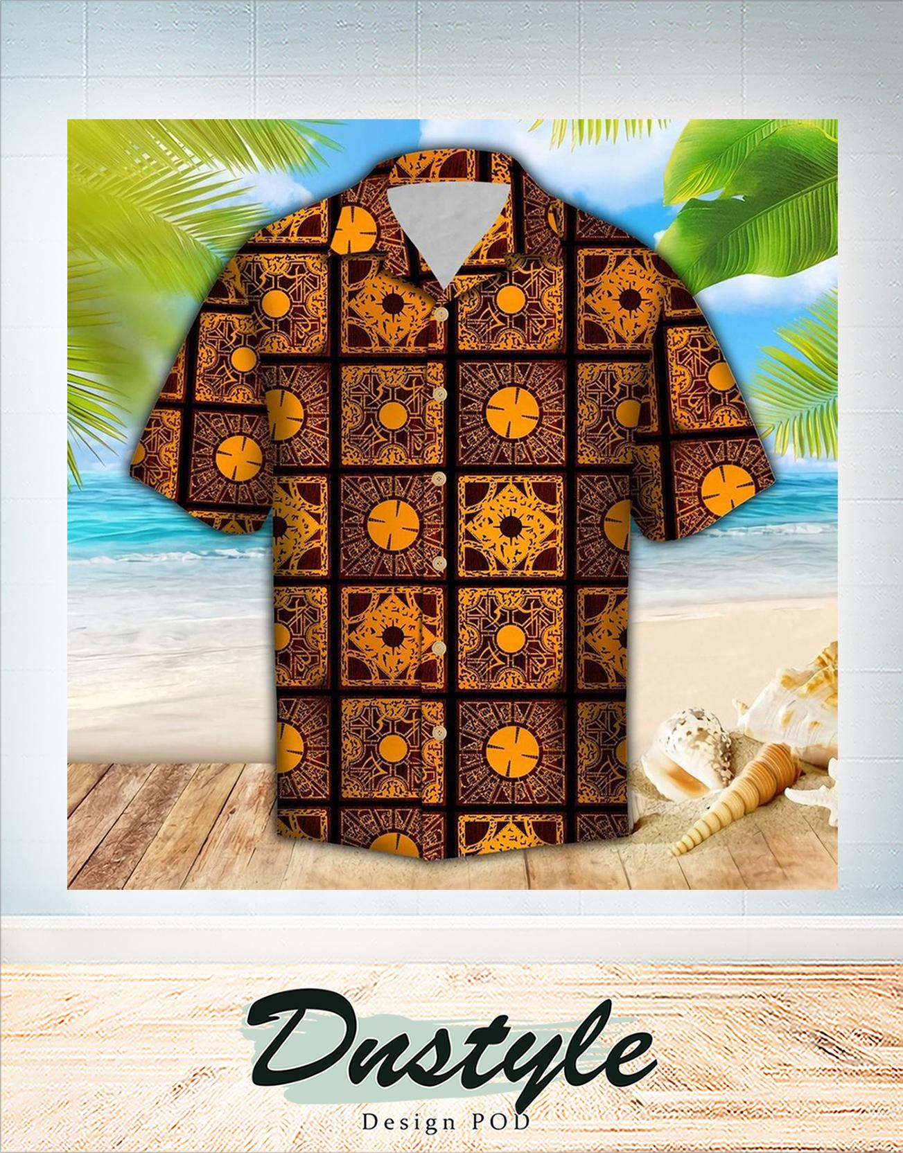 Lemar pattern hawaiian Shirt 1