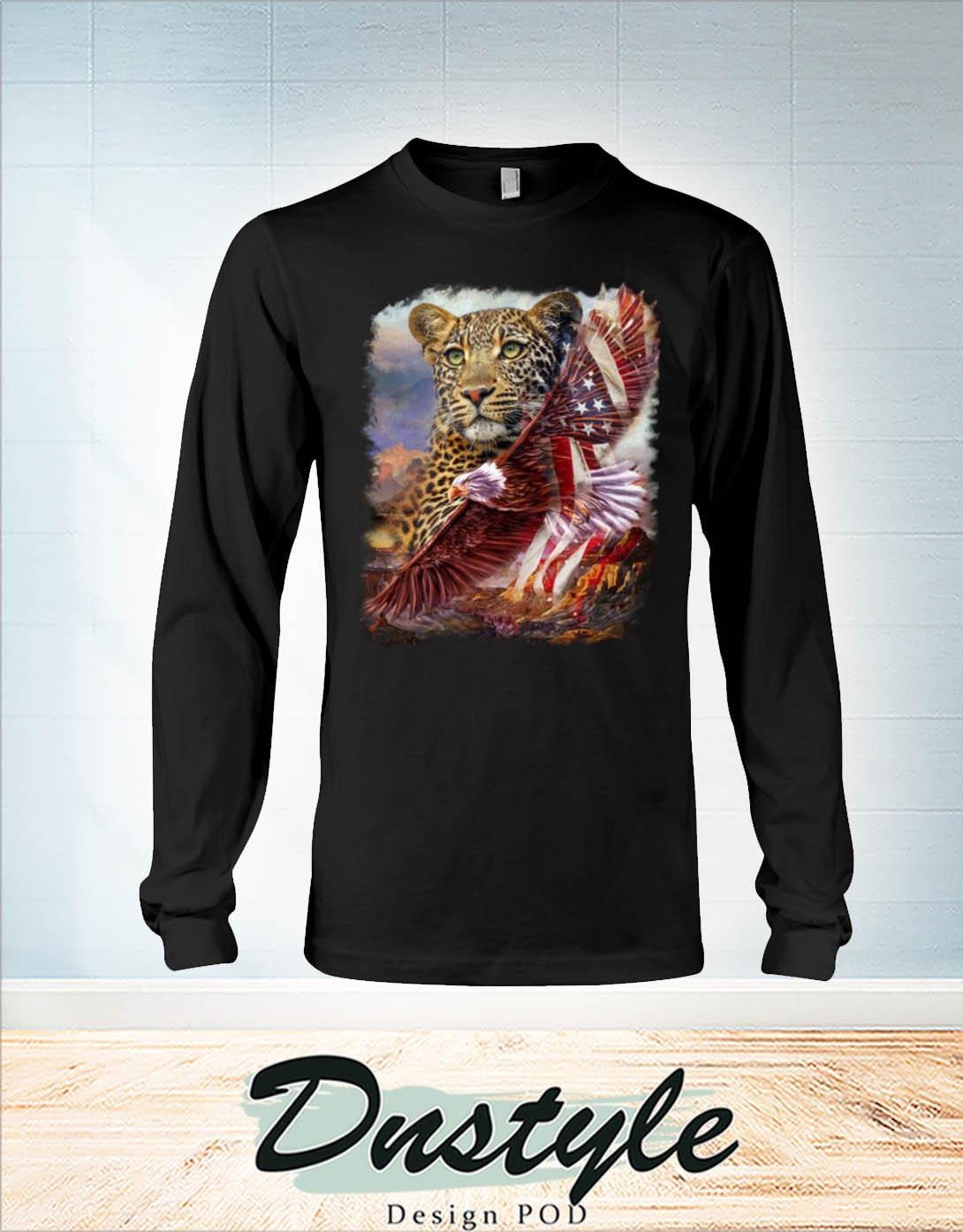 Leopard american patriot eagle long sleeve