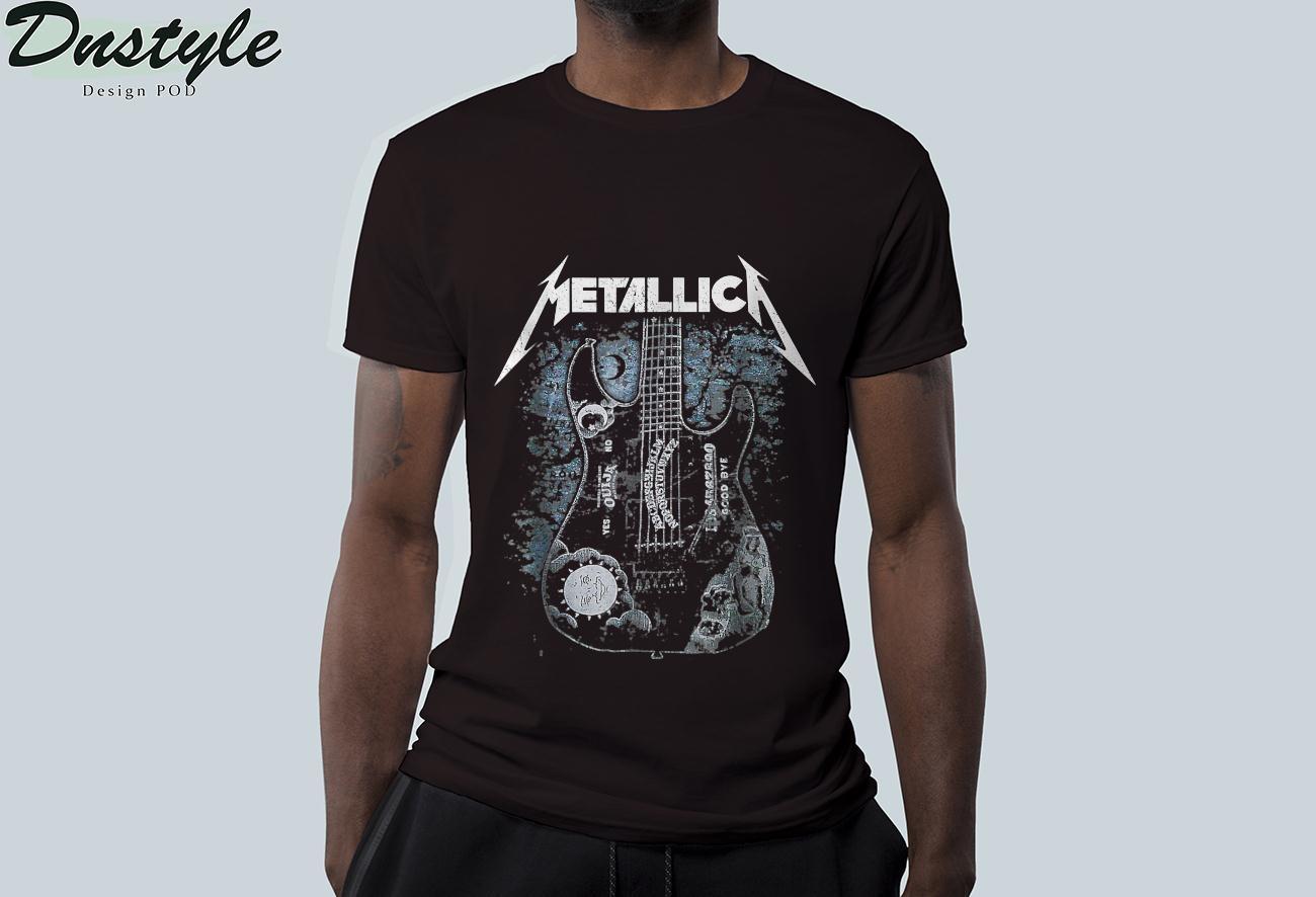 Love Metallicas Classic Arts Band Music Legends Live Forever T-Shirt 2