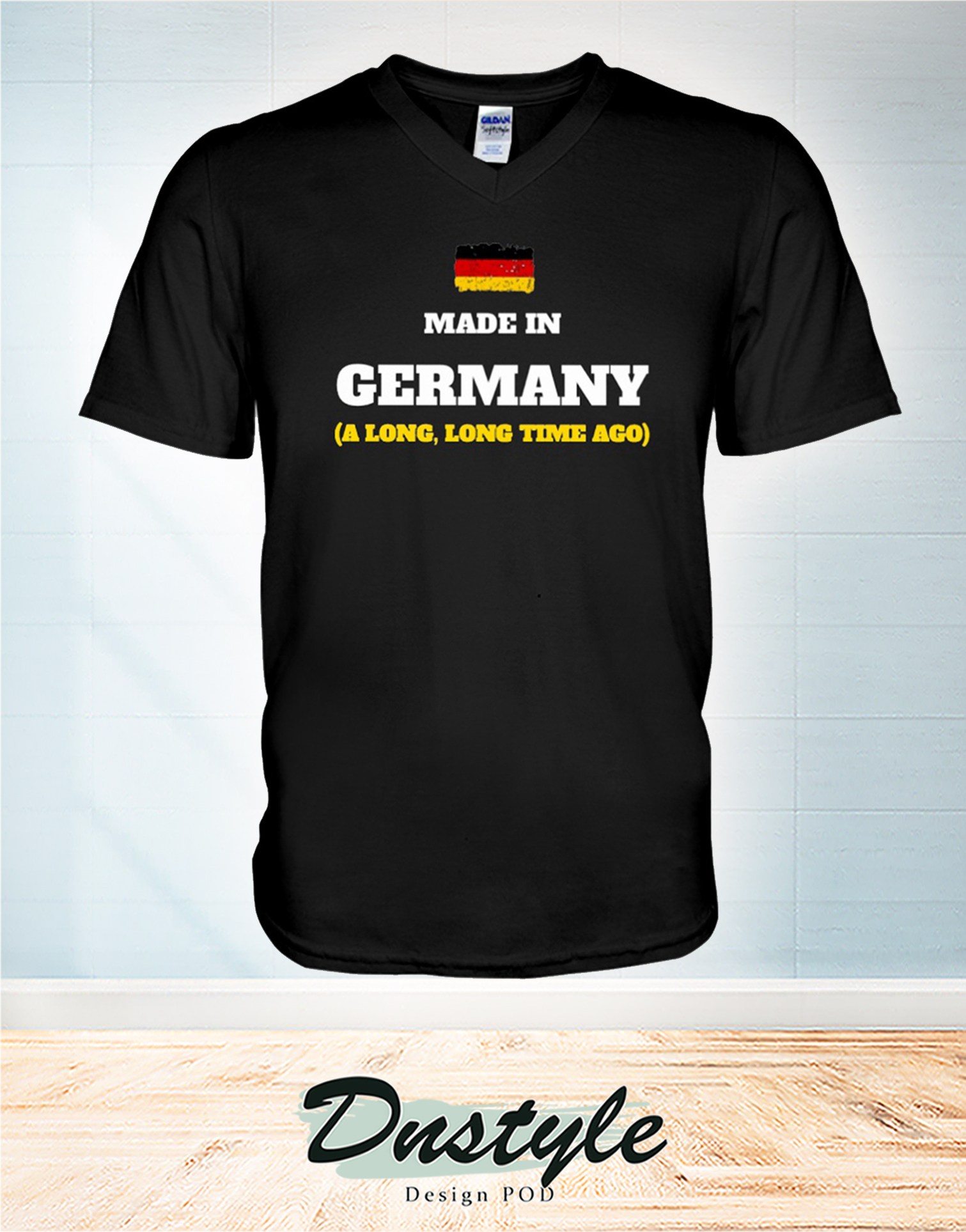 Made in germany a long long time ago v-neck