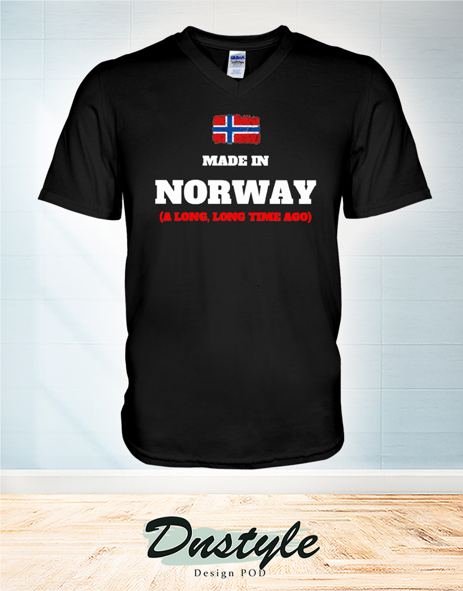 Made in norway a long long time ago v-necl