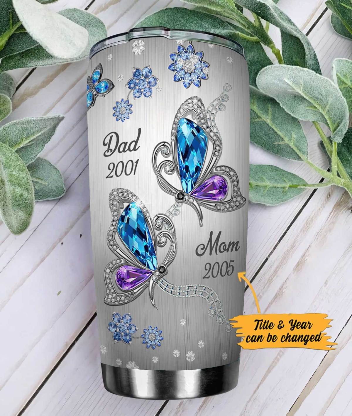 Personalized customize butterfly memory my mind still talks to you tumbler 1