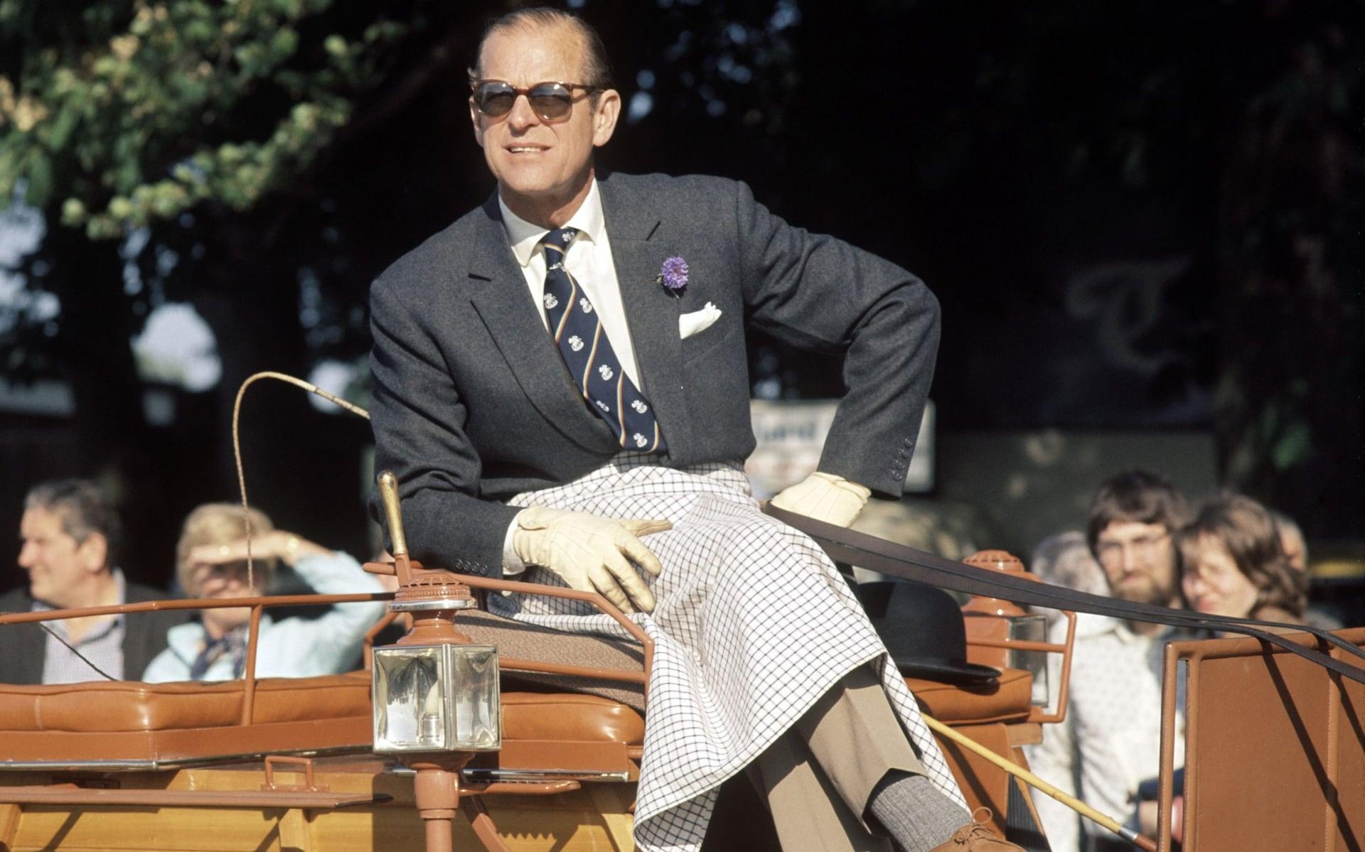 Prince Philip - the fashion icon of a British gentleman