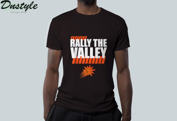 Rally the valley basketball t-shirt 2