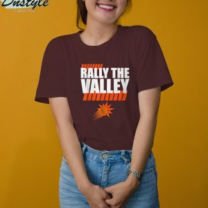 Rally the valley basketball t-shirt 3