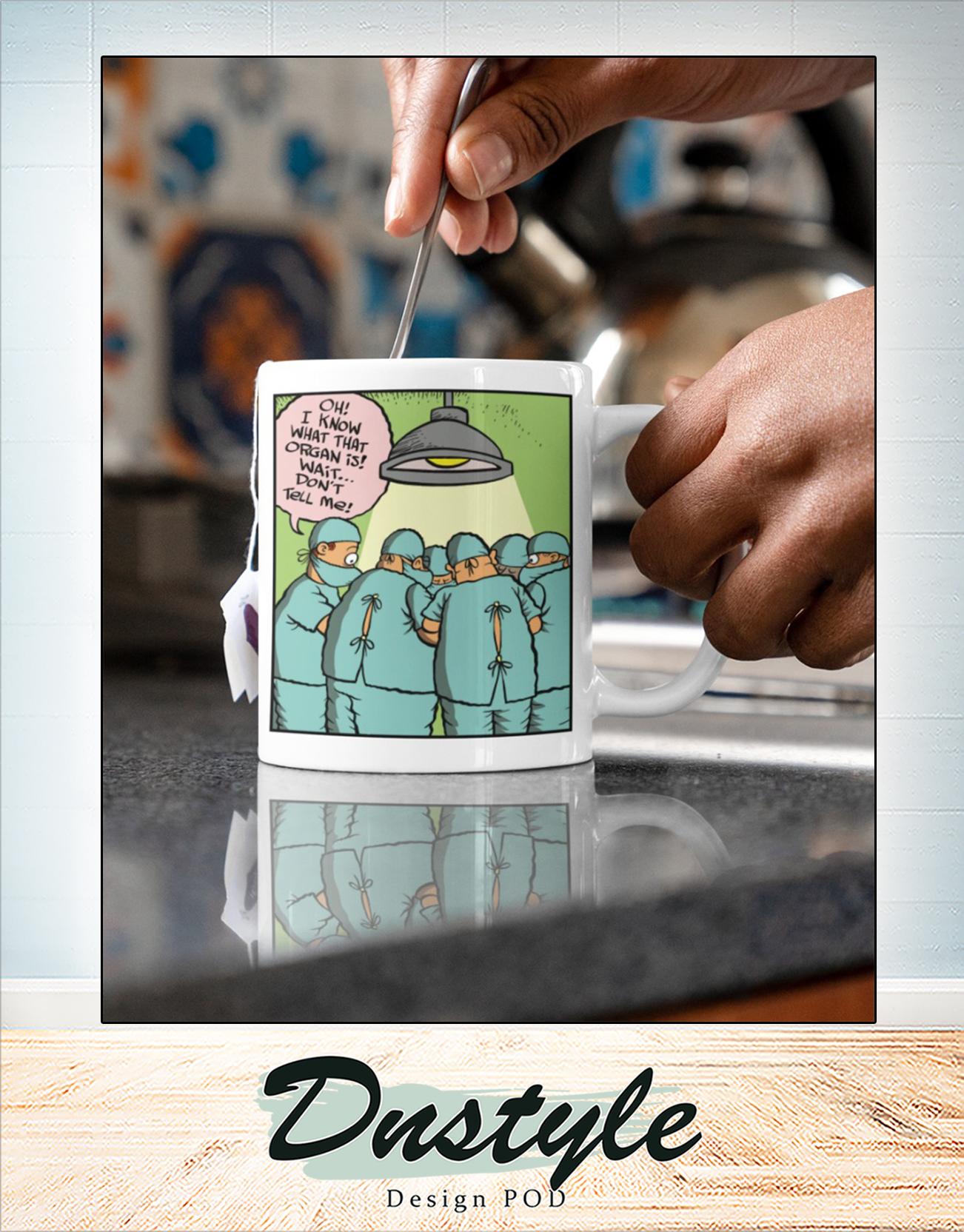 Surgeon comic mug 2