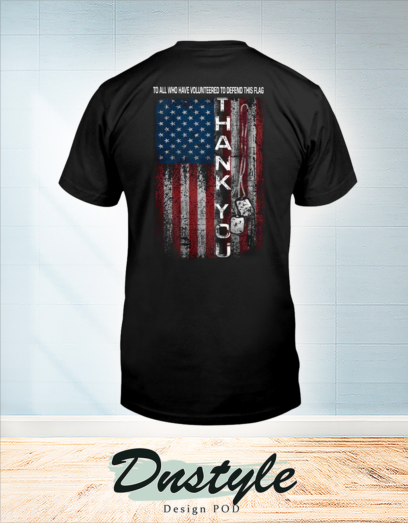 To all who have volunteered to defend this flag shirt