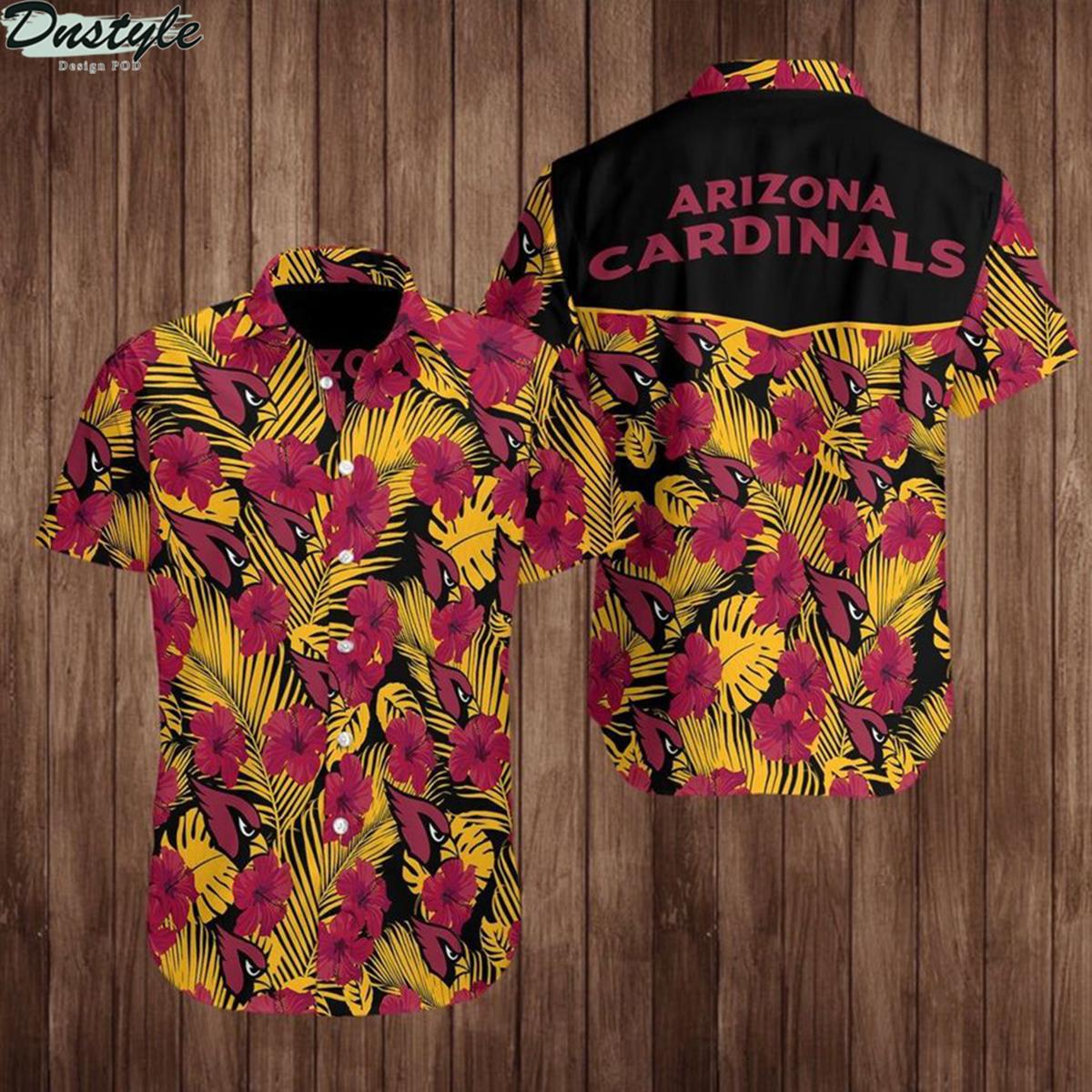 Arizona cardinals nfl football hawaiian shirt 1
