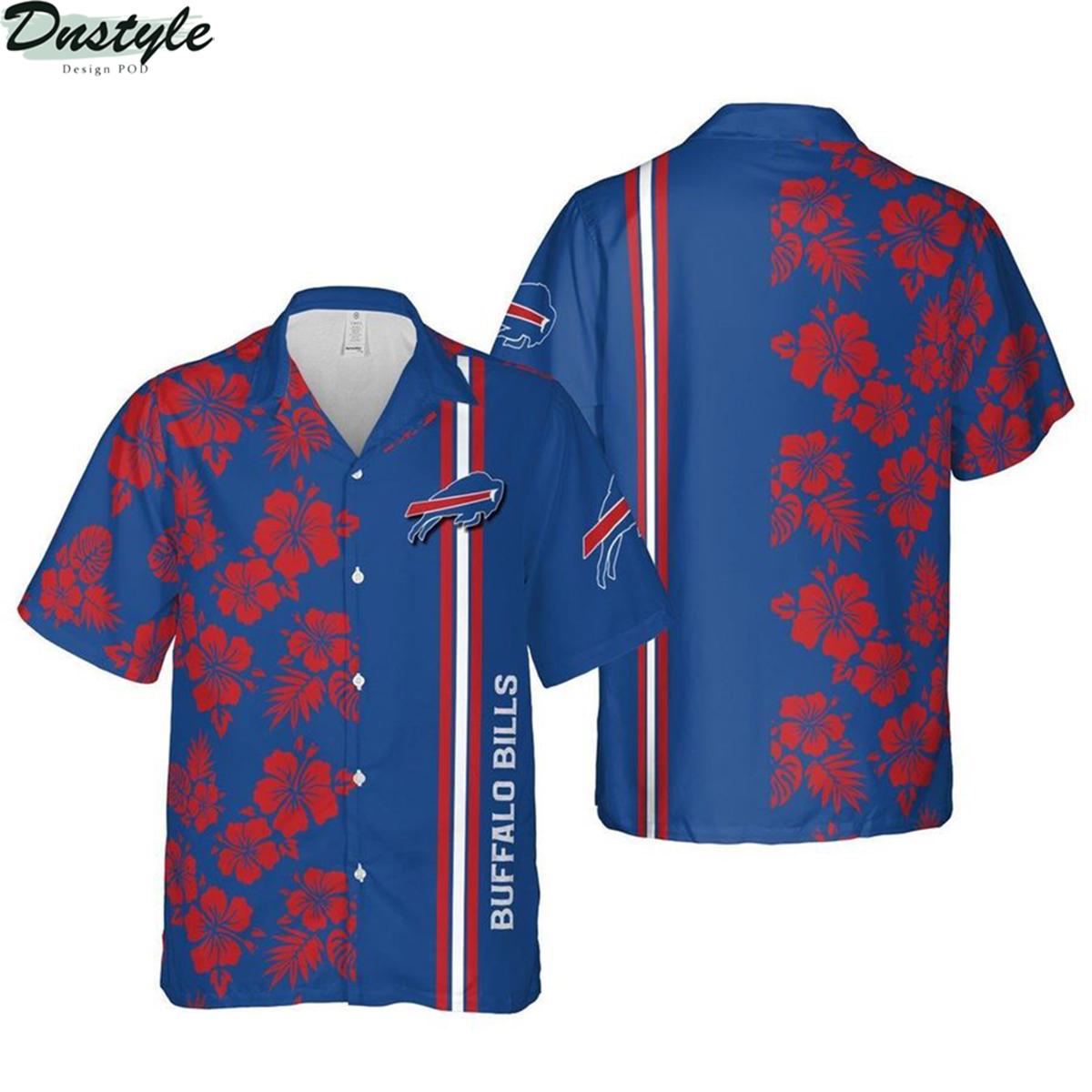 Buffalo bills niagara falls nfl football hawaiian shirt 2