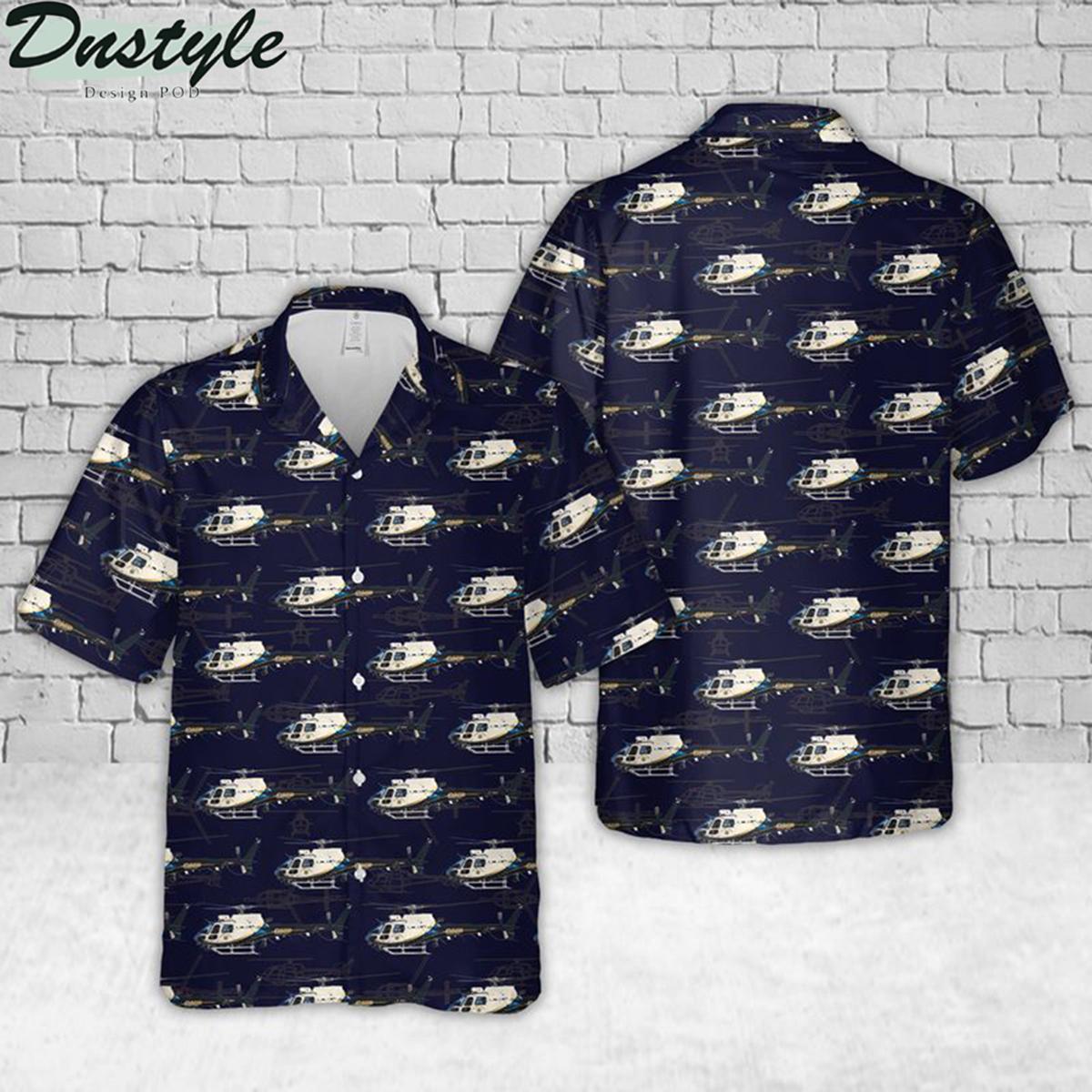 California police hawaiian shirt 1