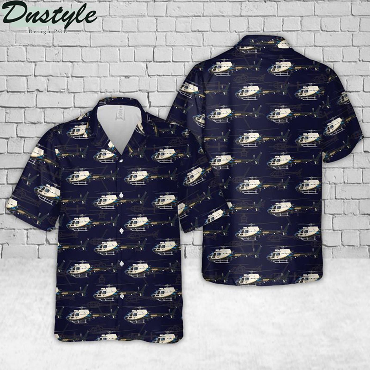 California police hawaiian shirt 2