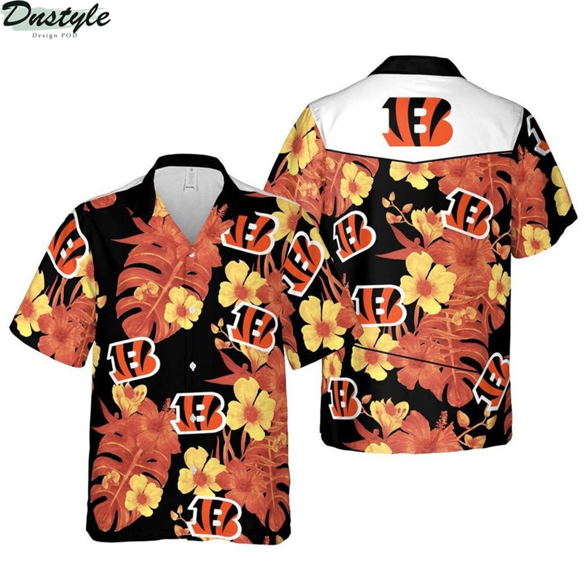 Cincinnati bengals nfl football hawaiian shirt 2