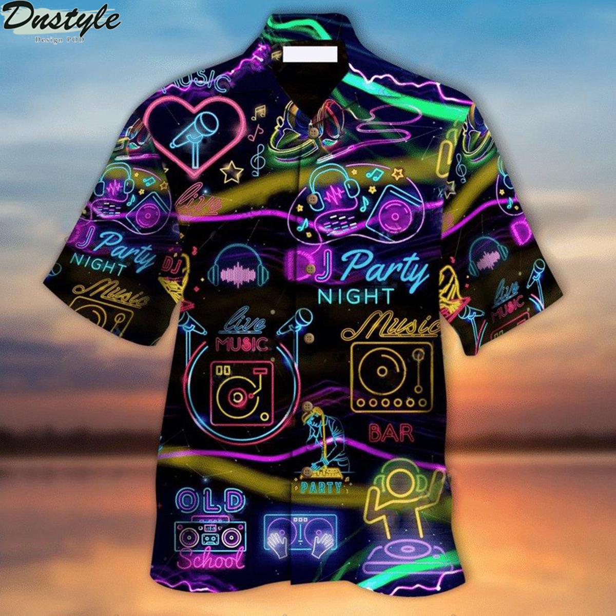 Dj music party hawaiian shirt 2