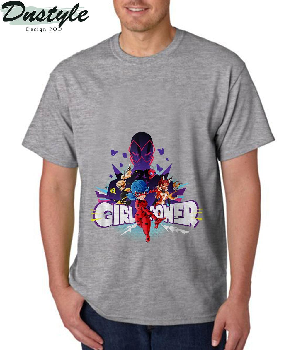 Girl Power Miraculous Collection Ladybug vs Hawk Moth T-Shirt 3