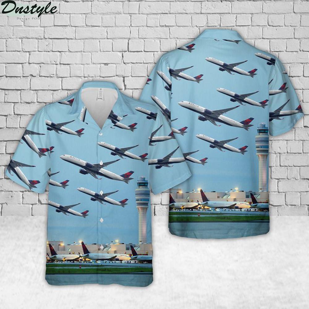 Hartsfield-jackson atlanta international airport hawaiian shirt 1