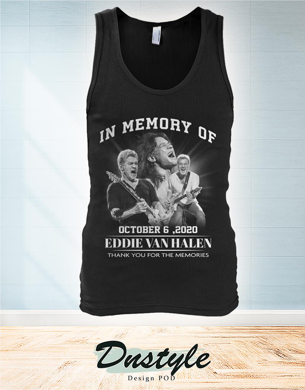 In memory of Eddie Van Halen october 6 2020 tank