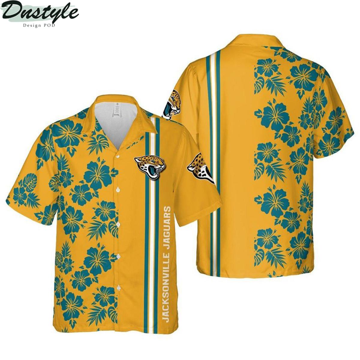 Jacksonville jaguars florida nfl football hawaiian shirt 2